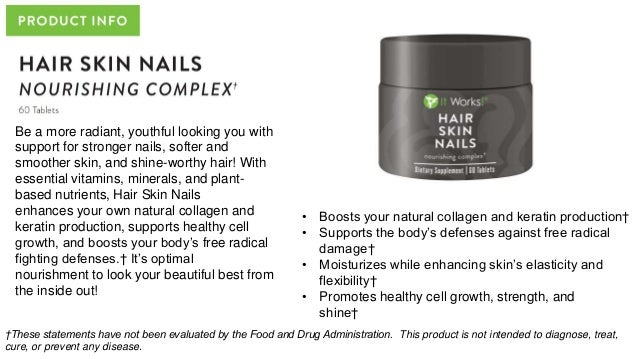 It Works Hair Skin and Nails