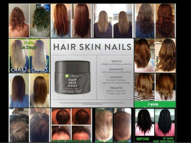 It Works Hair Skin Nails Supplement See The Results And