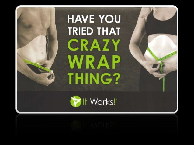Body Wrap - Amazing results from Body Applicator Wrap from It Works Slide 2