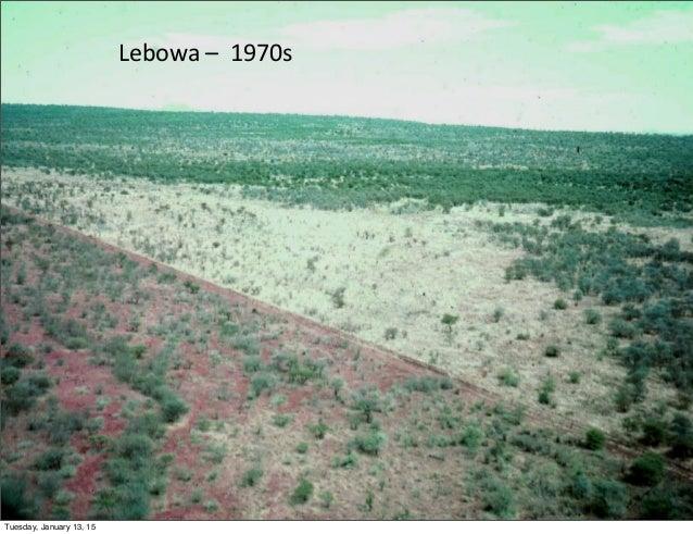 Lebowa  –    1970s     Tuesday, January 13, 15