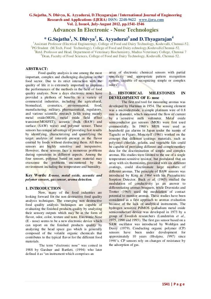 G.Sujatha, N. Dhivya, K. Ayyadurai, D.Thyagarajan / International Journal of Engineering            Research and Applicati...