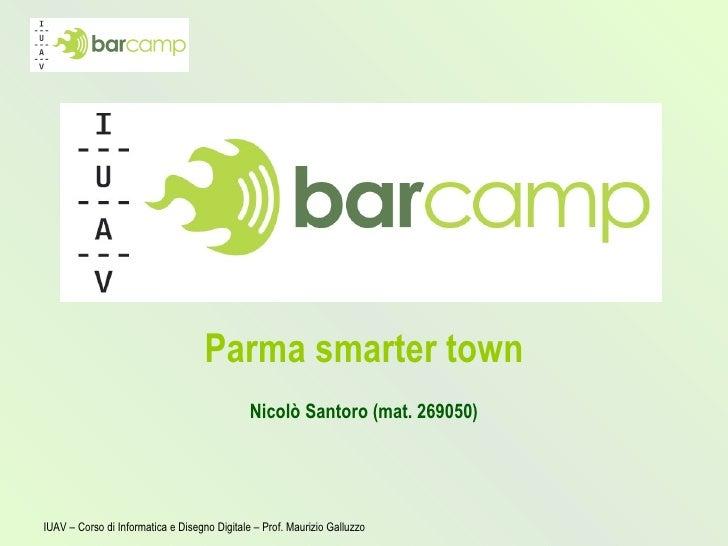 Parma smarter town Nicolò Santoro (mat. 269050)