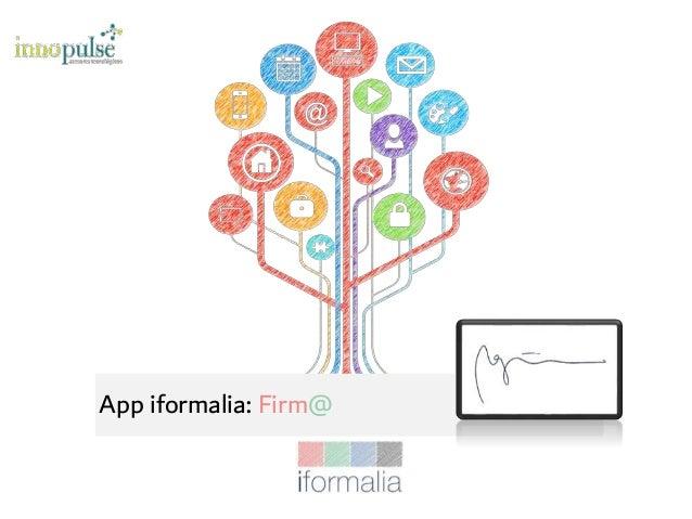 App iformalia: Firm@