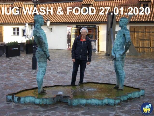 IUG WASH & FOOD 27.01.2020