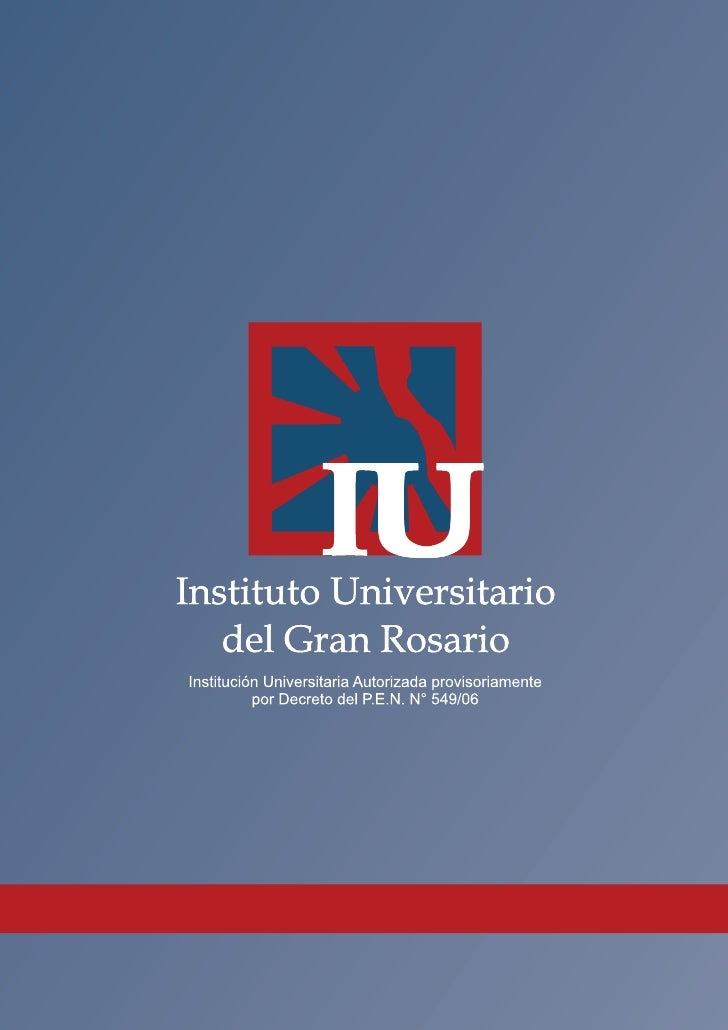 AUTHORITIES                   Rector      Ing. Javier Andrés Macchi              rector@iugr.edu.arVice-Rector for Adminis...