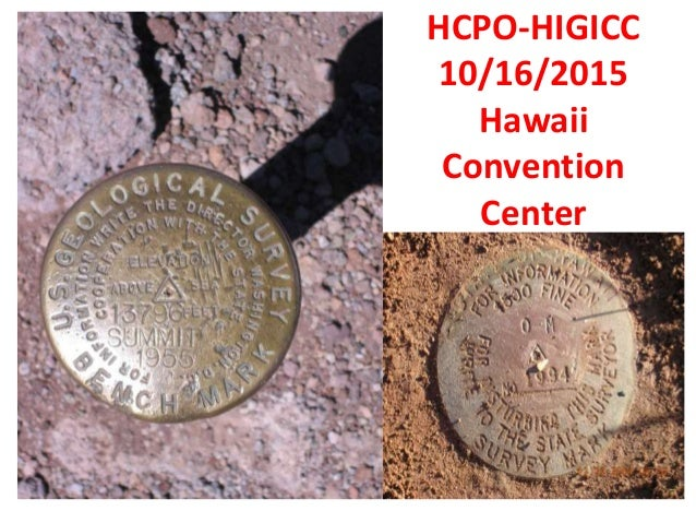 HCPO-HIGICC 10/16/2015 Hawaii Convention Center