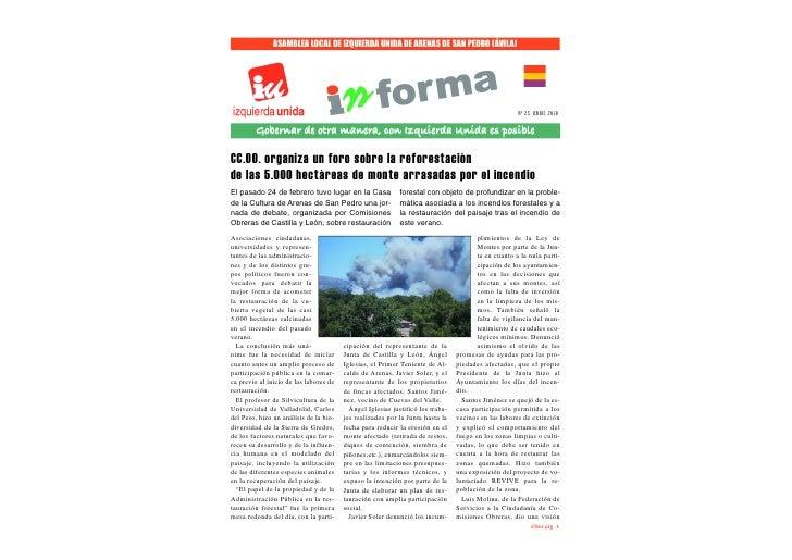 ASAMBLEA LOCAL DE IZQUIERDA UNIDA DE ARENAS DE SAN PEDRO (ÁVILA)                                                          ...