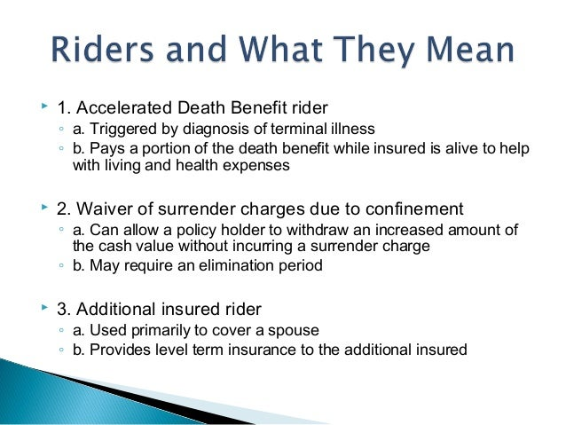 accelerated death benefit Indexed Universal Life - A Crash Course