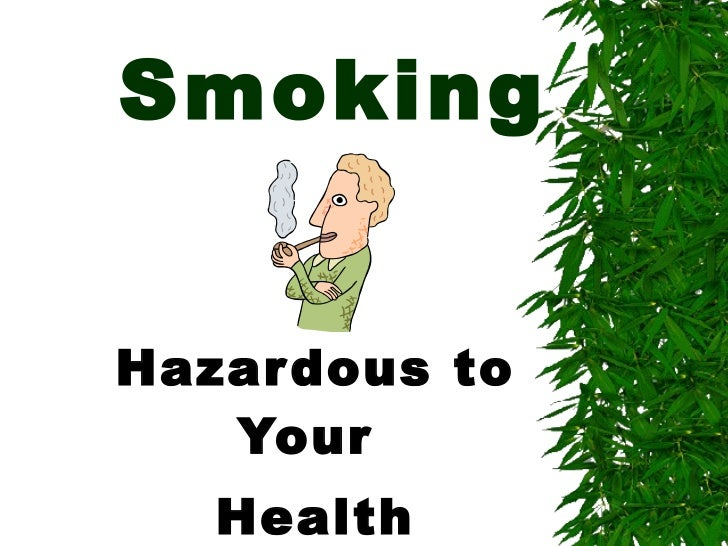 the hazards of smoking essay