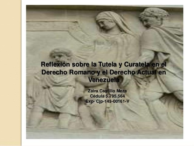 Matrimonio Romano Tutela Y Curatela : Derechos reales y las servidumbres curatela tutela en