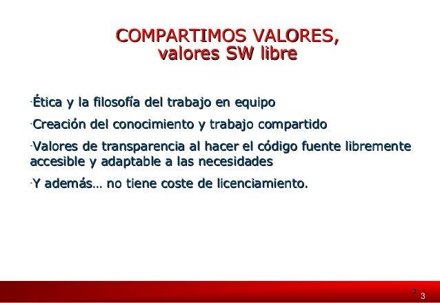 Eroski: Compartiendo valores con el software libre Slide 3