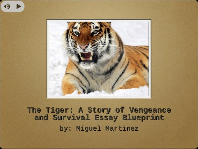 Essay on my favourite animal tiger