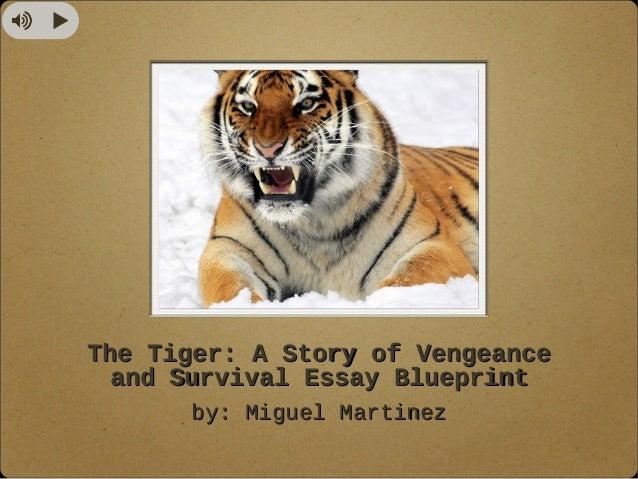 Essay on my favourite animal tiger