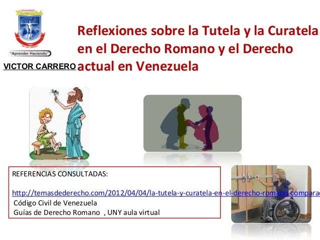 Matrimonio Romano Tutela Y Curatela : Ius romanum