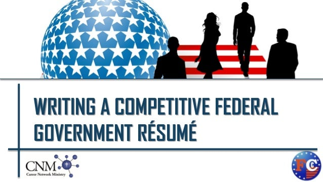 writing a competitive federal government rsum