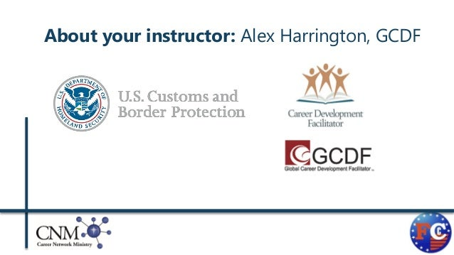 writing a competitive federal government rsum 2 about your instructor alex harrington gcdf