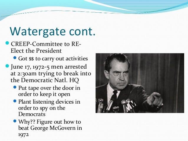 Essay/Term paper: Watergate