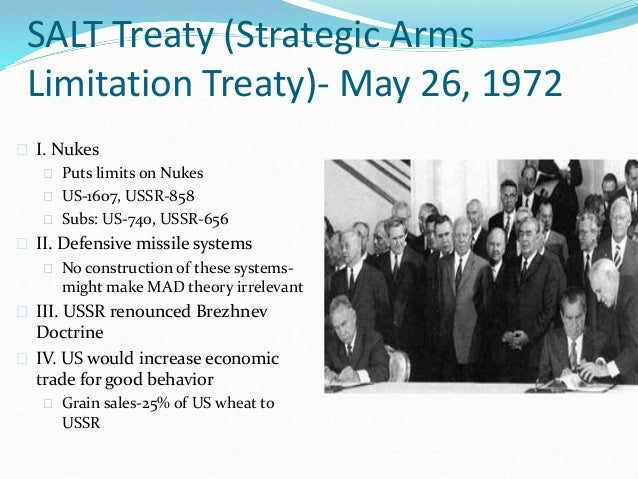 Strategic Arms Limitation Treaty