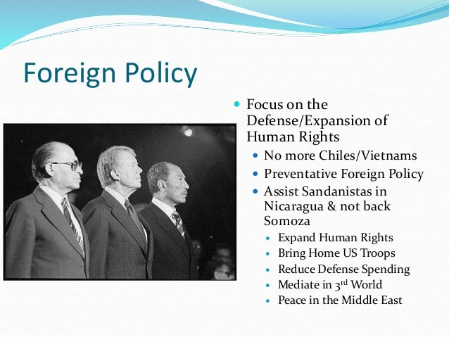 Iv 6 carter foreign policy