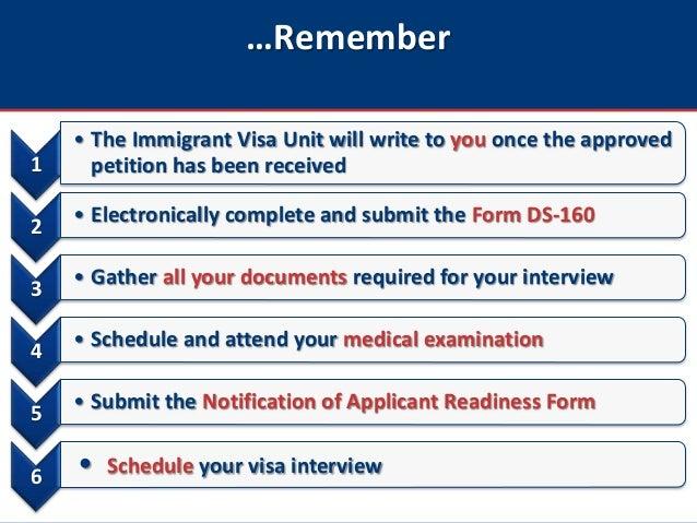 U S  Fiance(é) Visas: How to schedule a K-1 visa interview