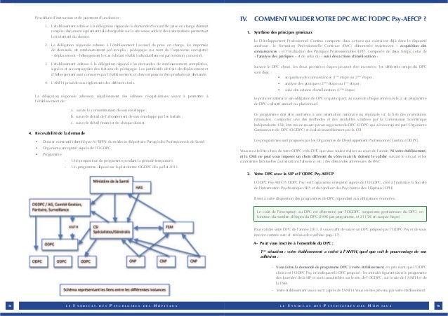 Procédure d'instruction et de paiement d'un dossier :  1. L'établissement adresse à la délégation régionale la demande d'a...