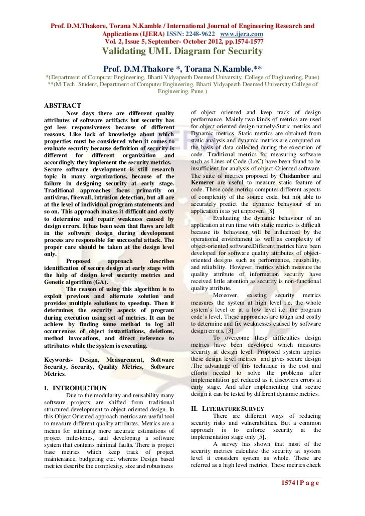 Prof. D.M.Thakore, Torana N.Kamble / International Journal of Engineering Research and                  Applications (IJER...