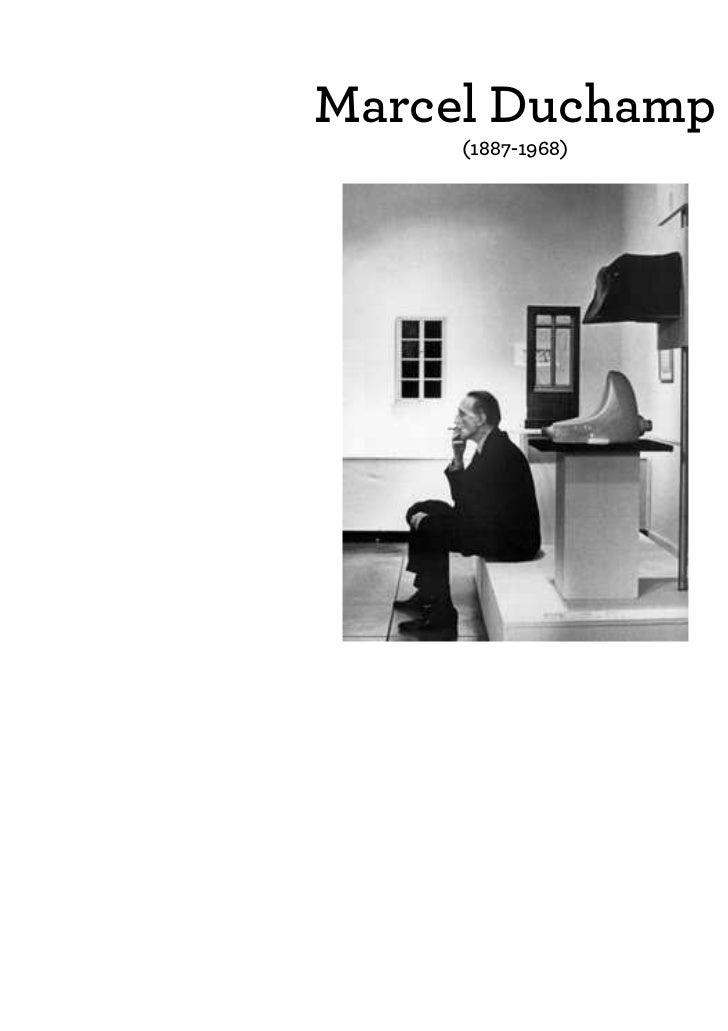 Marcel Duchamp     (1887-1968)                   FIEDLER