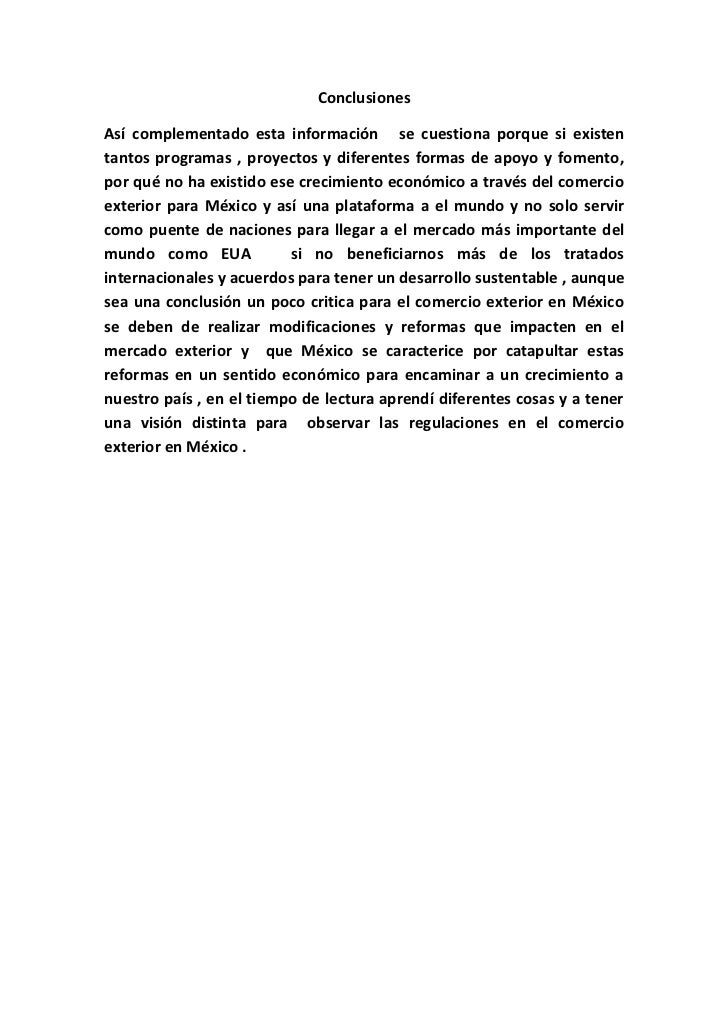 Ivan Monroy Ensayo Importacion Y Exportacion En Mexico