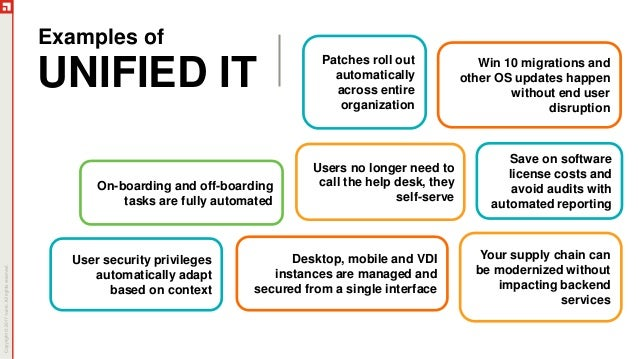 Ivanti: Access the Power of Unified IT Slide 3