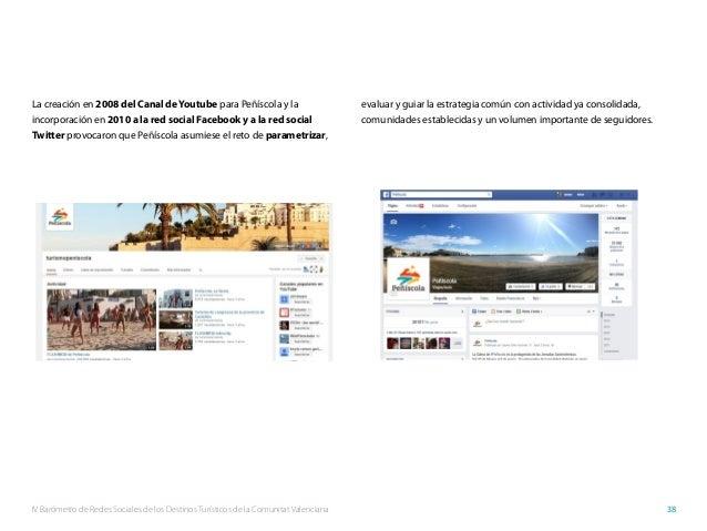 IV Barómetro de Redes Sociales de los Destinos Turísticos de la Comunitat Valenciana 38 La creación en 2008 del Canal deYo...