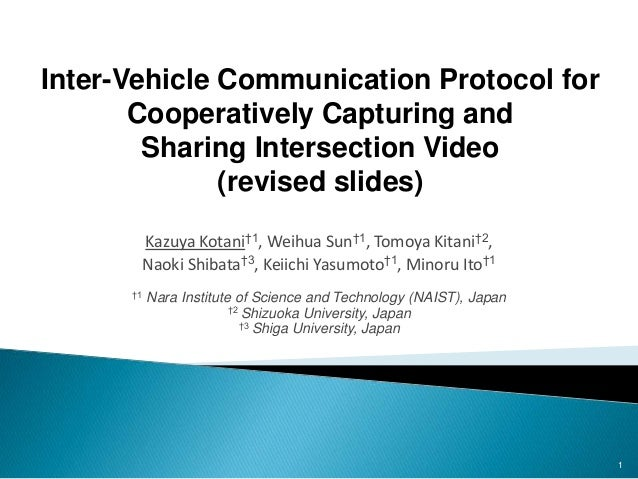 inter vehicle communication