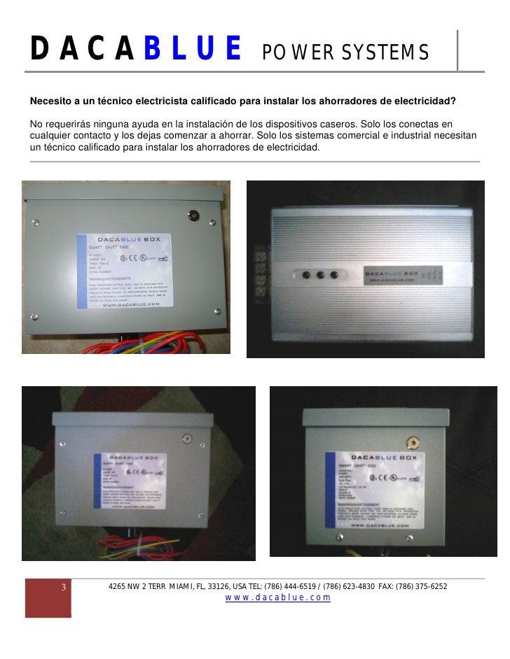 AHORRADORES DE ELECTRICIDAD (ENERGY SAVER) Slide 3