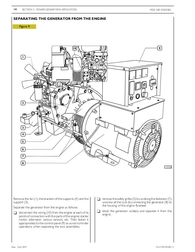 Iveco Workshop Manual on Coolant Temperature Sensor Wiring Diagram