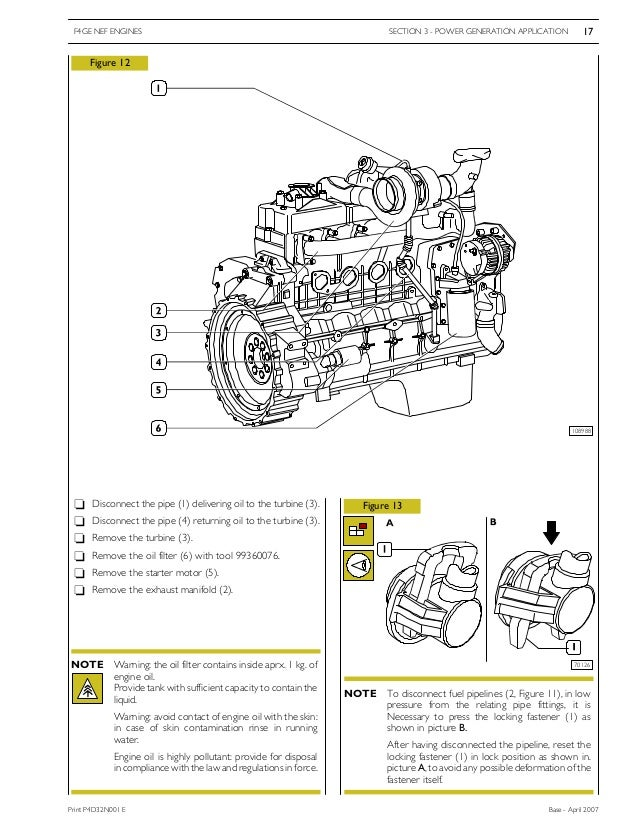 iveco engine fuel system diagrams
