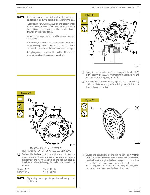 Instruction On Engine Operation And Repair Iveco Eurocargo