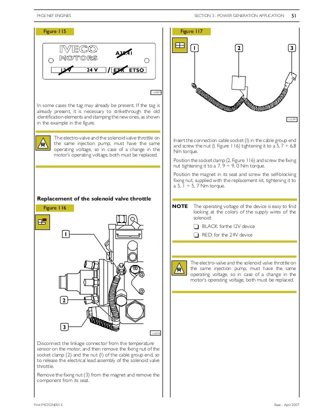 Iveco workshop manual – Iveco Wiring Diagram