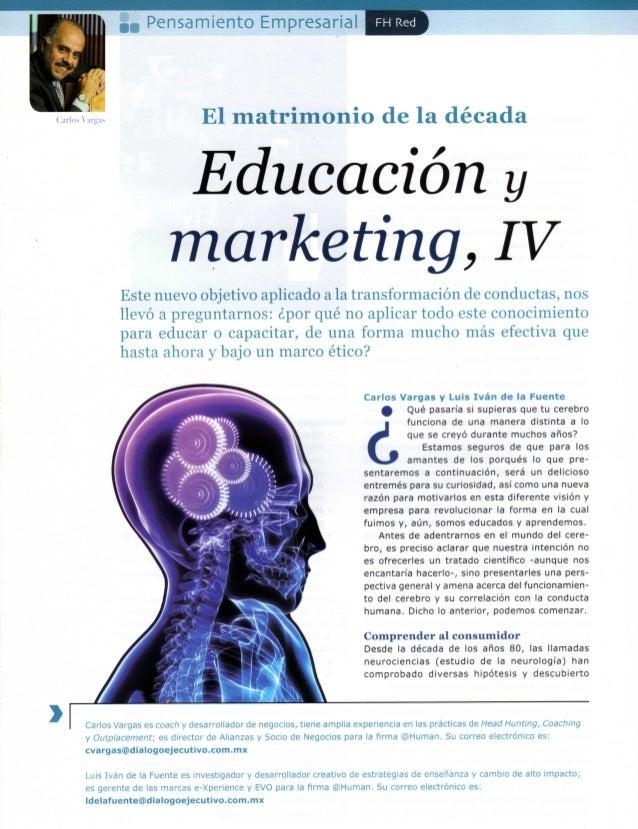 IV Educación y Marketing CUARTA PARTE 4-5