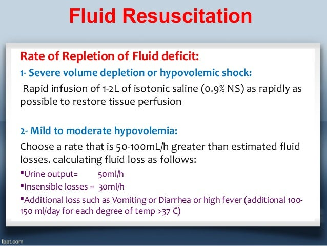 how to calculate iv fluid