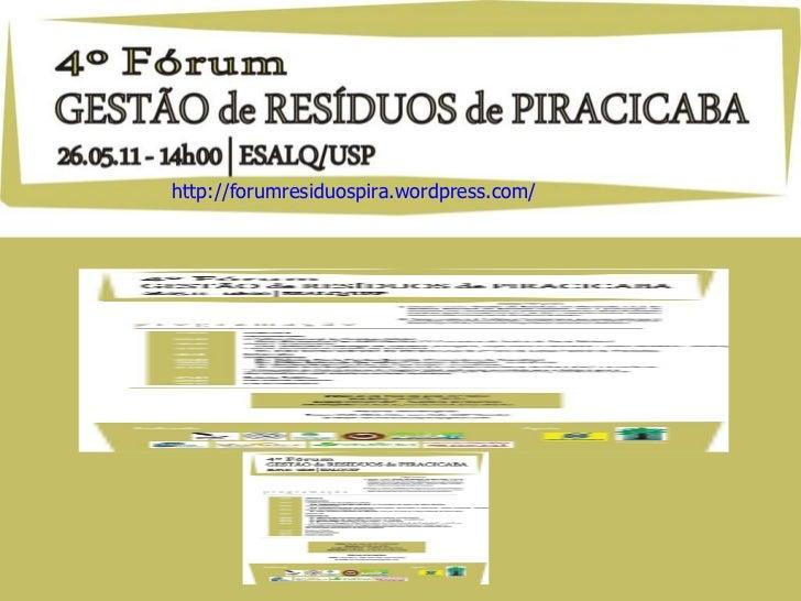 http://forumresiduospira.wordpress.com/