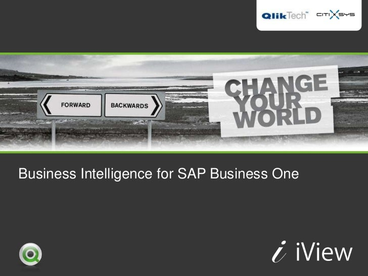 Business Intelligence for SAP Business One
