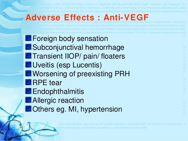 What Anti-VEGF Options Are Available?