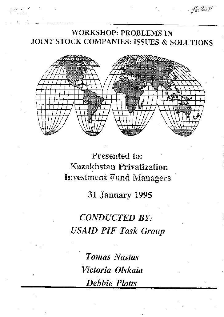 IVI Workshop Kazak Investors In English