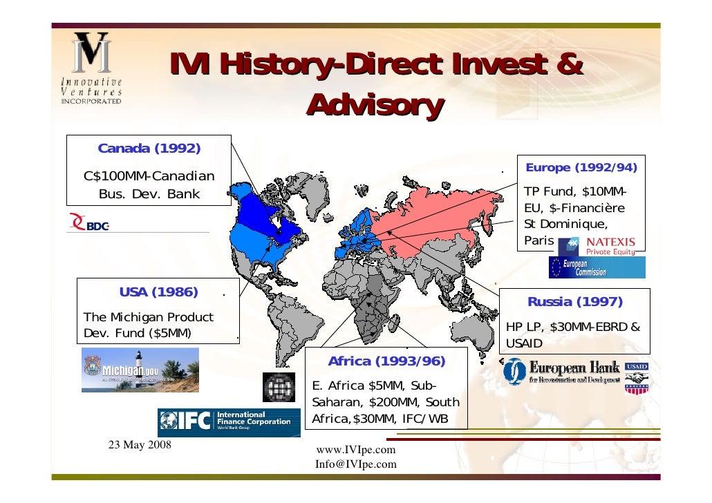IVI Presentation at UNECE Conference, May 2008 Slide 3