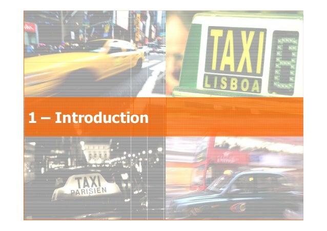 2007GfK Group Custom Research France Le taxi au sein des déplacements urbains 1 – Introduction