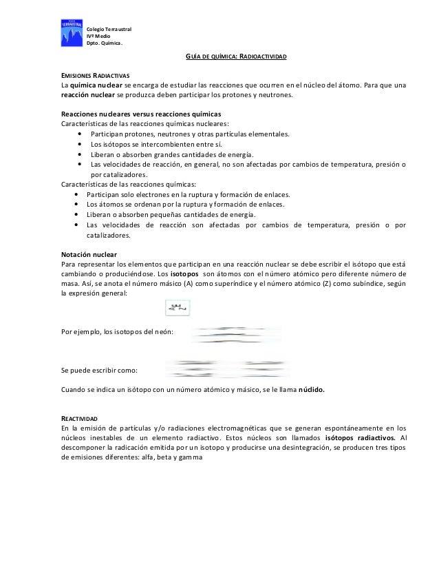 Perfecto Escribir Ecuaciones Nucleares Hoja Respuestas Regalo ...