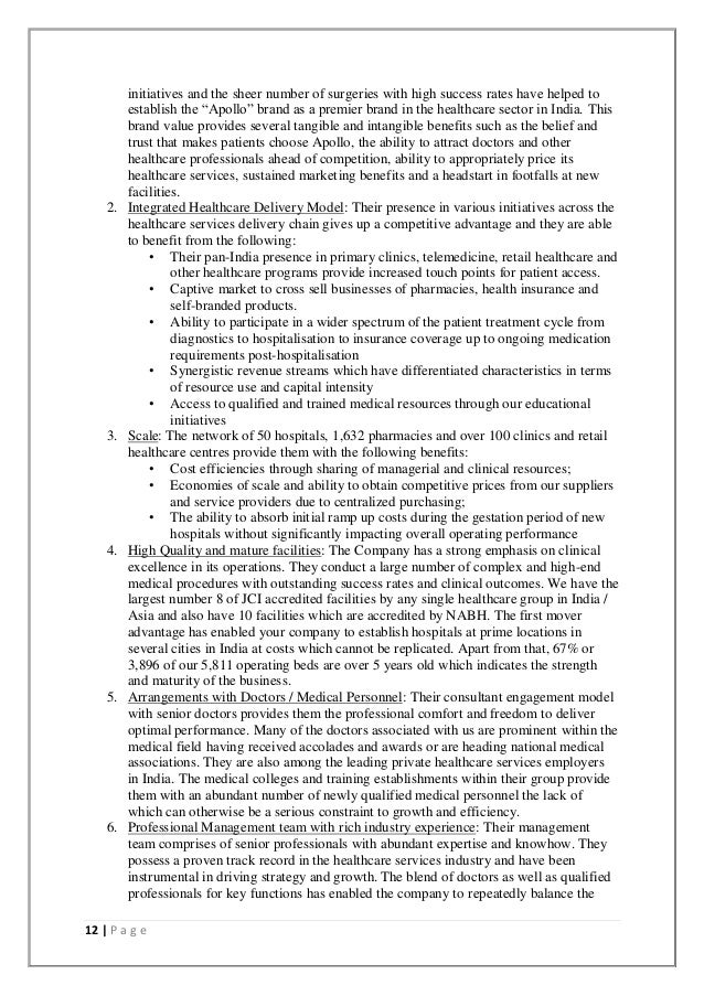 apollo hospital term paper The term risk management in the curriculum of postgraduate studies in  m h ghatala is with the apollo hospitals educational and research foundation in hyderabad, india (e-mail: habeebghatala@gmailcom tel: +  risk management in hospitals balbir singh and m habeeb ghatala international journal of innovation, management and technology.