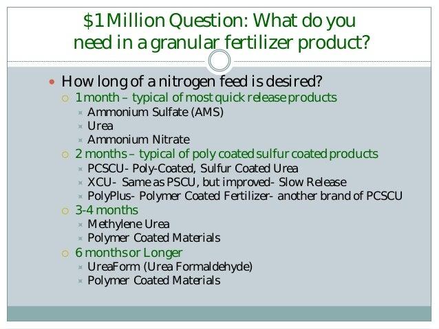 AquaGranular Fertilizer and Helena Products - APWA CFB Lunch