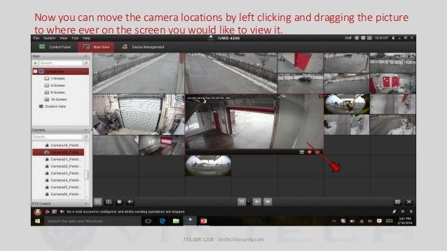 Ivms custom view settings
