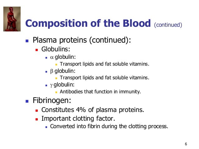Copyright © The McGraw-Hill Companies, Inc. Permission required for reproduction or display. 6  Plasma proteins (continue...