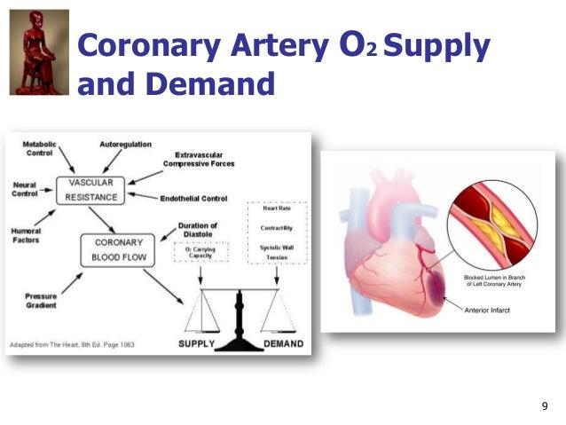 9 Coronary Artery O2 Supply and Demand